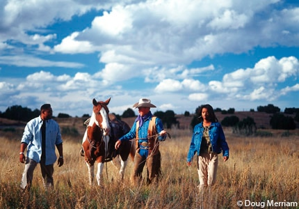 Go horseback riding during your visit to Santa Fe, New Mexico