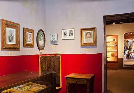 A look inside the Kit Carson Home and Museum in Taos, New Mexico