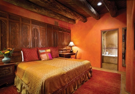 The Marrakech Room at El Monte Sagrado in Taos, New Mexico