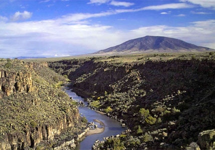 The Wild Rivers Recreation Area in Taos, New Mexico