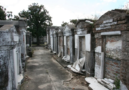 Walk the ghostly aisles of Lafayette Cemetery No. 1