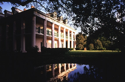 One of the many magnificent plantation homes in New Orleans