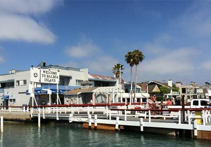 Balboa Island in Newport Beach, California is full of entertaining activities