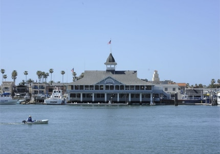 Take a boat out to Newport Harbor in Newport Beach, California