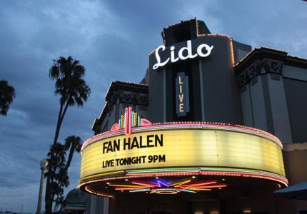Attend a concert at Lido Live in Newport Beach, California