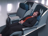American Airlines' Boeing 777 Business Class seat