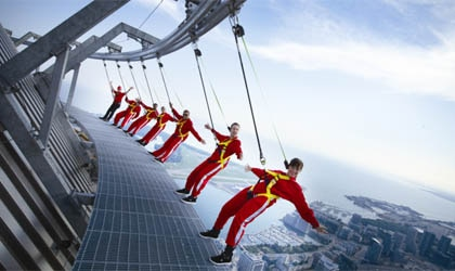 EdgeWalk at the CN Tower introduced a new level of adventure tourism to Toronto