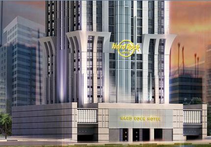 A first look at Hard Rock Hotel Dubai Marina