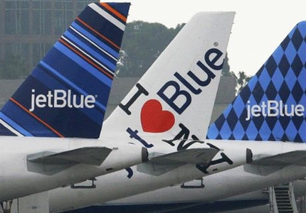 JetBlue offers season flight service Palm Springs, California