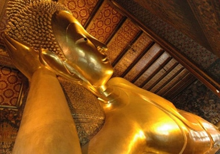 Visit the Reclining Buddha in Thailand during one of your stops on your Asia cruise