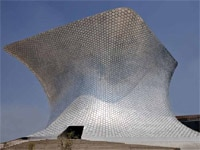The exterior of Soumaya Museum, designed by architect Fernando Romero, Carlos Slim's son-in-law