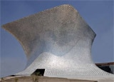 The exterior of Soumaya Museum in Mexico City's swanky Polanco District
