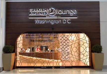 Turkish Airlines' first lounge in the U.S.