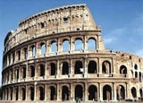 The Colosseum in Rome, Italy - one of the new Seven Wonders