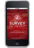 Survey on the Spot Application for the iPhone