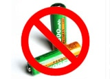 Spare AA batteries are no longer allowed in checked luggage