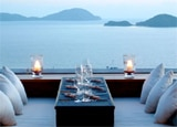 Baba Dining Lounge, Sri panwa Phuket Resort's newest restaurant, boasts views of the Andaman Ocean