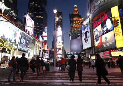 Times Square is a popular destination for travelers looking for an exciting New Year's Eve celebration