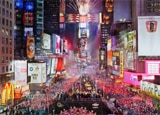 Times Square Comes Alive on New Year's Eve