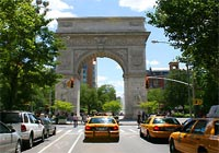 Washington Square Park is considered to be the heart of Greenwich Village in New York