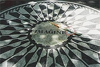 Strawberry Fields in New York is a memorial to John Lennon