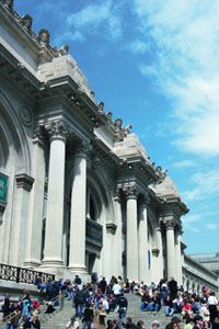 The Metropolitan Museum of Art in New York houses works of art from around the world