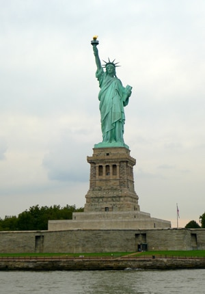 Since the 19th century, the Statue of Liberty in New York has welcomed scores of immigrants into our nation