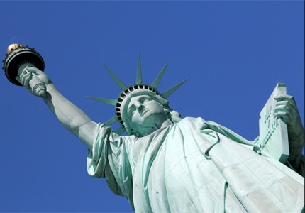 The Statue of Libery is one of New York City's top attractions