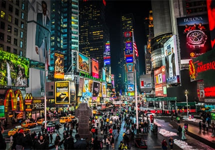 Explore Times Square, one of GAYOT's Top 10 Things to Do in New York City