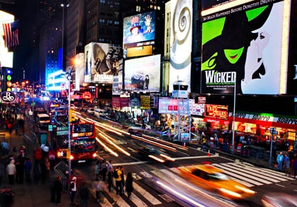 Visit Times Square, one of GAYOT's Top 10 Things to Do in New York City