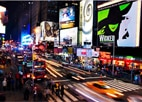 Visiting Times Square is one of GAYOT's Top 10 Things to Do in New York City