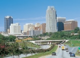 Raleigh's city skyline