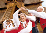Dance the Scandinavian way in Norsk Hostfest
