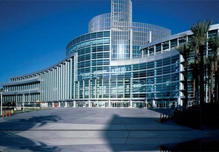 The Anaheim Convention Center hosts business meetings and other events throughout the year