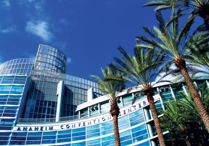 The Anaheim Convention Center is  a great place to hold business meetings