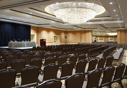 The meeting facility at Fairmont Newport Beach in California