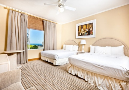 The Ocean Garden View room at Hotel Laguna in California