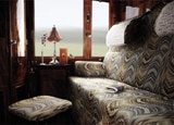 A cabin in the Venice Simplon Orient-Express Train