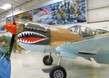 "The ""Miss Josephine"" Curtiss P40 Hawk at the Palm Springs Air Museum"