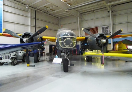The Douglas A26 JD1 Invader at the Palm Springs Air Museum in California