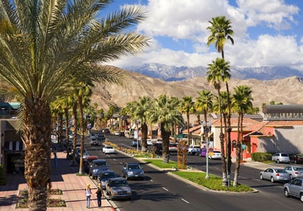 Get some retail therapy at the shops on El Paseo, one of GAYOT's Top 10 Things to Do in Palm Springs