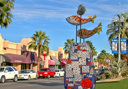 Splurge on some designer goods at El Paseo, dubbed the Rodeo Drive of Palm Springs