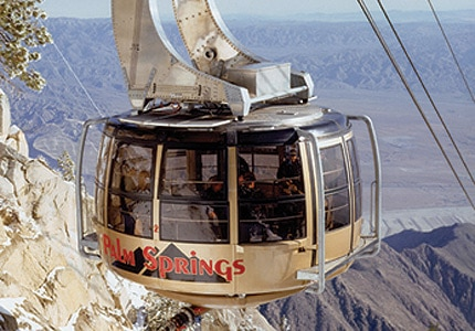 Enjoy stunning views of the Coachella Valley with a trip up the Palm Springs Aerial Tramway