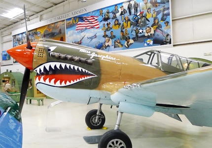 One of GAYOT's Top 10 Things to Do in Palm Springs, the Palm Springs Air Museum houses one of the largest collections of World War II airplanes in the world