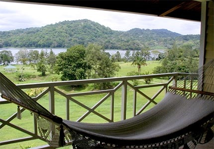 The view from a Gamboa Rainforest Resort suite in Panama