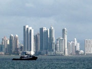 Panama City's skyline