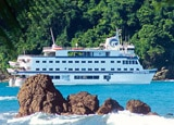 Pacific Explorer ship on our Panama Canal and Costa Rica cruise