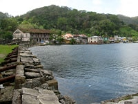 The shore of Portobelo