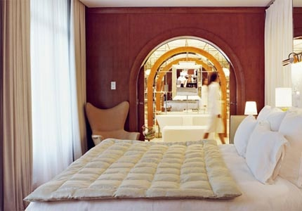 A guest room at Le Royal Monceau - Raffles Paris
