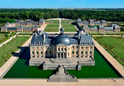 The Vaux-le-Vicomte in France